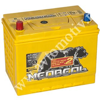 Автомобильный аккумулятор Тюменский Медведь VLA  85D26R (70) фото 340x340