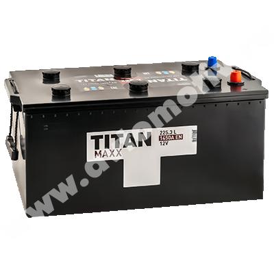 Аккумулятор для грузовиков Titan MAXX 225.3 евро фото 400x400