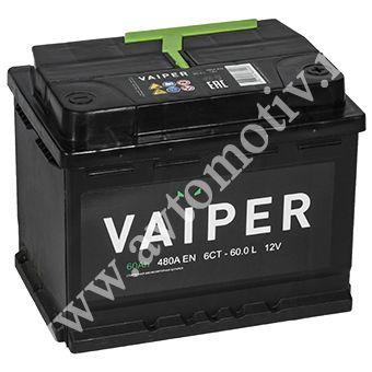 Автомобильный аккумулятор VAIPER 60.0 фото 340x340