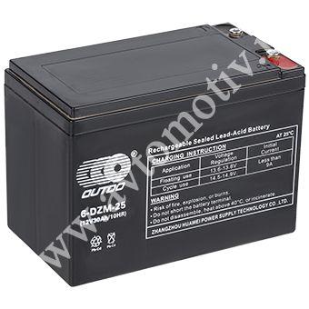 Аккумулятор OUTDO VRLA 12v  30Ah (6-DZM-25) e-byke фото 340x340