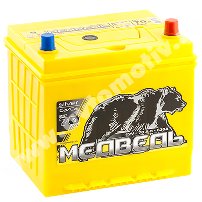 Автомобильный аккумулятор Тюменский Медведь VLA  90D23L (70) фото 400x400