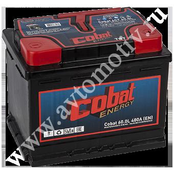 Автомобильный аккумулятор Cobat Energy 60.0 фото 340x340