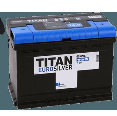 Автомобильный аккумулятор Titan EUROSILVER 61.0 фото 378x377