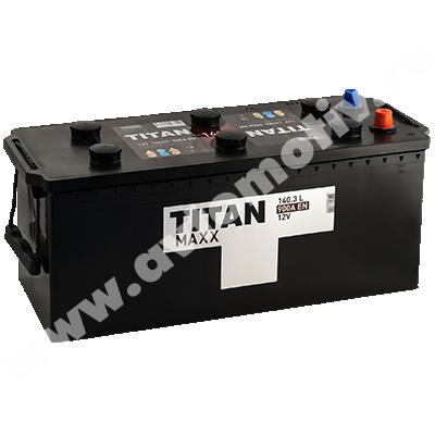 Аккумулятор для грузовиков Titan MAXX 140.3 евро фото 400x400