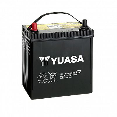 Автомобильный аккумулятор YUASA MF Black Edition 44B19L 40Ah фото 401x401