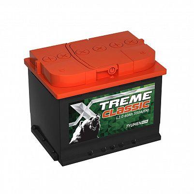 Автомобильный аккумулятор X-treme CLASSIC (Тюмень) 60.0 фото 401x401