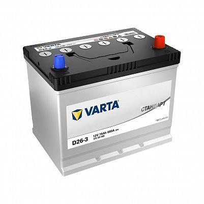 Varta Стандарт D26L (75) обр фото 401x401