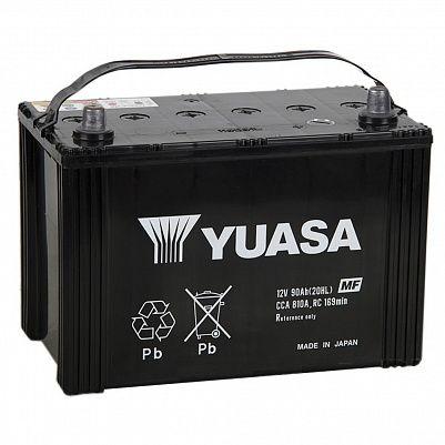 Автомобильный аккумулятор YUASA MF Black Edition 115D31L (90) фото 401x401