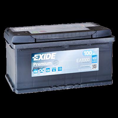 Автомобильный аккумулятор Exide Premium 100.0 (EA1000) фото 401x401