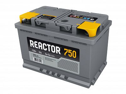 Автомобильный аккумулятор Reactor 75.1 фото 401x300