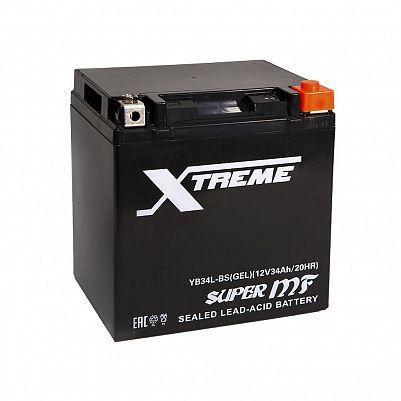 Мото аккумулятор Xtreme YB34L-BS GEL (34Ah) фото 401x401