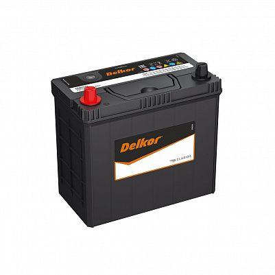 Автомобильный аккумулятор DELKOR 60B24R (45) пр фото 401x401