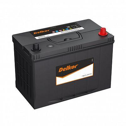 Автомобильный аккумулятор DELKOR 105D31L (90) обр фото 401x401