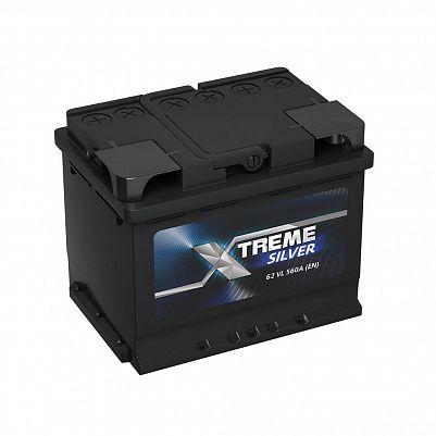 Автомобильный аккумулятор X-treme Silver (АКОМ) 62.1 фото 401x401