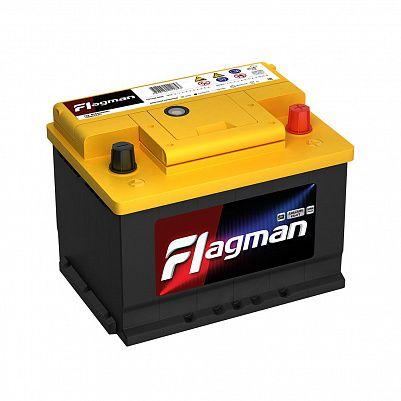 Автомобильный аккумулятор Flagman 62.0 LB2 (56200) фото 401x401