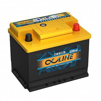 Автомобильный аккумулятор AlphaLINE ULTRA 68.0 L2 (56800) фото 401x401