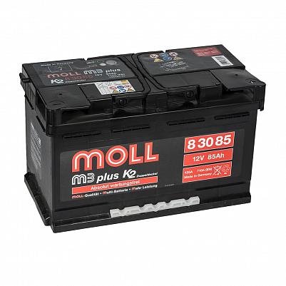 Автомобильный аккумулятор MOLL M3 plus 85.0 фото 401x401