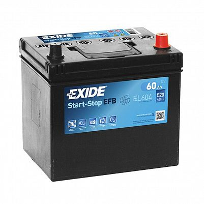 Автомобильный аккумулятор Exide Start&Stop AGM 60.0 (EK600) фото 401x401