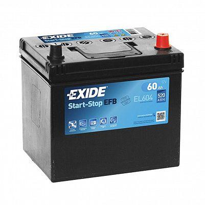 Exide Start&Stop AGM 60.0 (EK600) фото 401x401