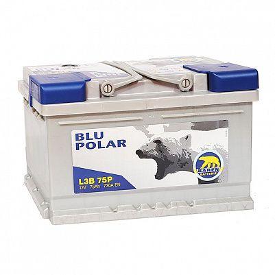Автомобильный аккумулятор Baren Polar Blu 75.0 LB3 фото 401x401