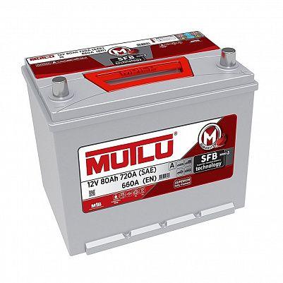 Автомобильный аккумулятор Mutlu 80 (95D26FL) фото 401x401