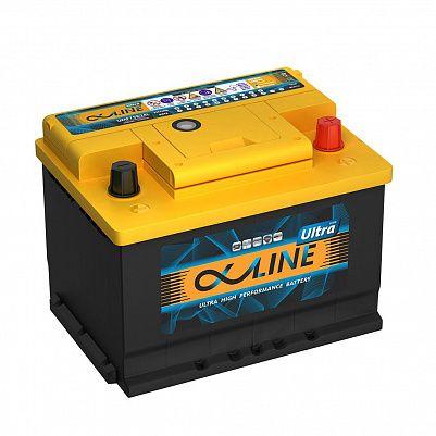 Автомобильный аккумулятор AlphaLINE ULTRA 62.0 LB2 (56200) фото 401x401