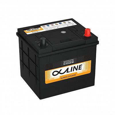 Автомобильный аккумулятор AlphaLine Super Dynamic 58Ач (MF26R-550) фото 401x401