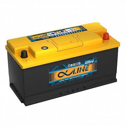 Автомобильный аккумулятор AlphaLINE ULTRA 110.0 L6 (61000) фото 401x401