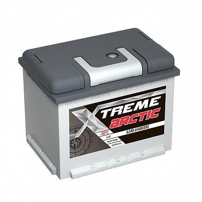 Автомобильный аккумулятор X-treme Arctic 62.0 фото 401x401