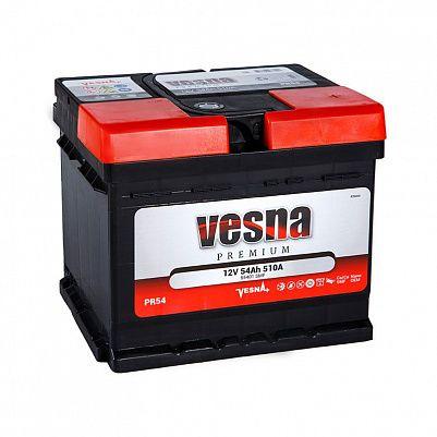 Автомобильный аккумулятор VESNA Premium 54.0 LB1 фото 401x401