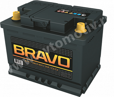 Автомобильный аккумулятор Bravo 60.1 фото 401x342