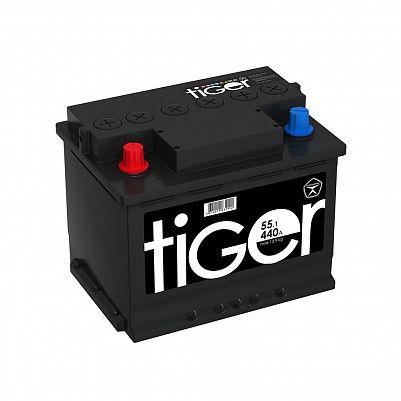Автомобильный аккумулятор Tiger Аком 55.1 пр. фото 401x401