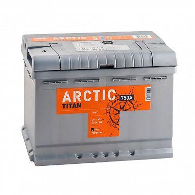 Автомобильный аккумулятор Titan ARCTIC 75.1 фото 401x401