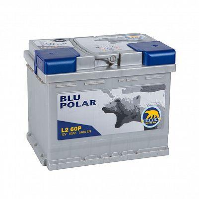 Автомобильный аккумулятор Baren Polar Blu 60.0 L2 фото 401x401