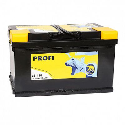 Автомобильный аккумулятор Baren Profi 110.0 L6 фото 401x401