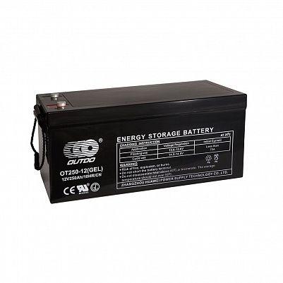 Аккумулятор OUTDO VRLA 12v  250Ah (OT250-12L) фото 401x401