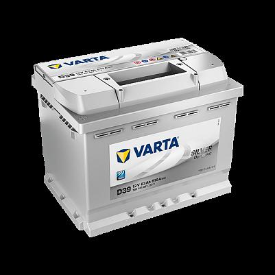 Автомобильный аккумулятор Varta D39 Silver Dynamic (563 401 061) 63Ah фото 401x401