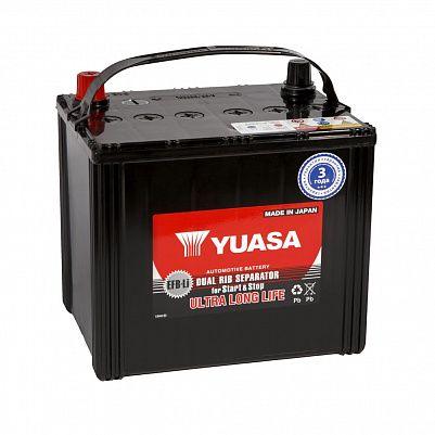Автомобильный аккумулятор YUASA EFB 95D23L 66Ah фото 401x401