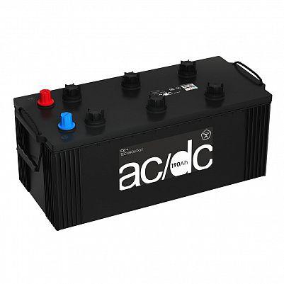 Аккумулятор для грузовиков AC/DC (Рязань) 190.3 узкий euro, клемма под конус фото 401x401