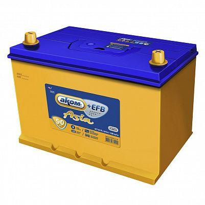 Автомобильный аккумулятор Аком Asia + EFB 105D31R 90.1 фото 401x401