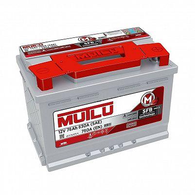 Автомобильный аккумулятор Mutlu SMF 57812 SFB серия 3 L3.78.078.A 78 Ач обратный фото 401x401