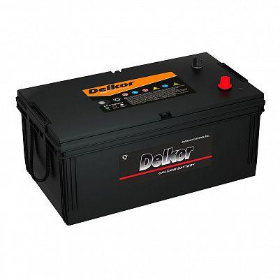 Аккумулятор для грузовиков DELKOR (JP) 225.3 (225H52R) евро фото 401x401