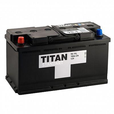 Автомобильный аккумулятор TITAN Standart 90.1 фото 401x401
