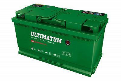 Автомобильный аккумулятор Ultimatum EFB 95.0 фото 400x267