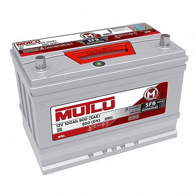 Автомобильный аккумулятор Mutlu 100 (115D31FR) фото 401x401