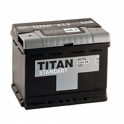 Автомобильный аккумулятор TITAN Standart 60.1 фото 401x401