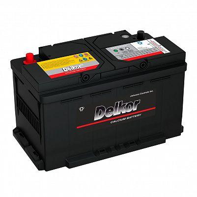 Автомобильный аккумулятор DELKOR Euro 90.0 L4 (59095) фото 401x401