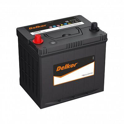 Автомобильный аккумулятор DELKOR 75D23R (65) пр фото 401x401