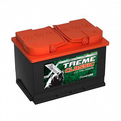 Автомобильный аккумулятор X-treme CLASSIC (Тюмень) 75.1 фото 401x401