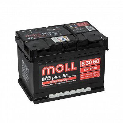 Автомобильный аккумулятор MOLL M3 plus 60.0 фото 401x401